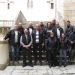 Photo de groupe dans Rocamadour